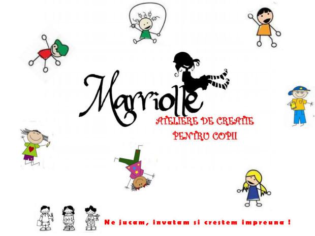 Marriolle in colaborare cu EduArts va invita din 7 Noiembrie la Ateliere de Creatie pentru copii