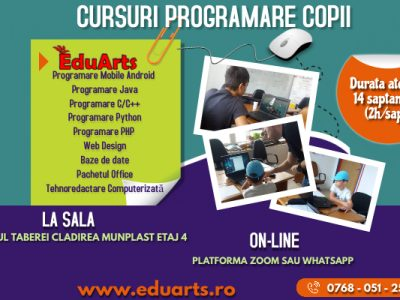 Ateliere programare copii